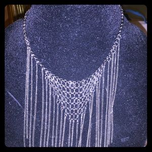 Paparazzi Silver Chain Link Necklace.
